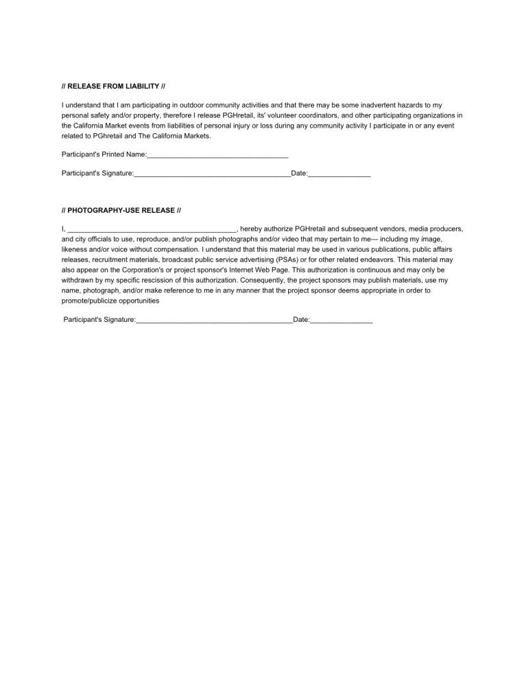 CommunityActivityAgreement