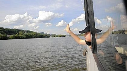 Waving-from-the-boat